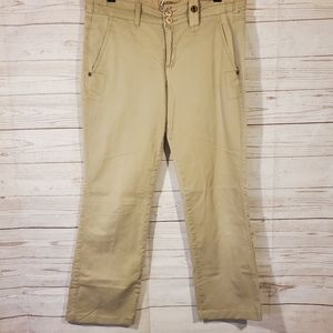 Ruff Hewn Tan Cropped Pants